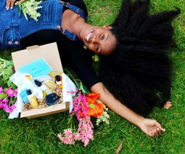 Natural Curlies Hair Farmacy Favourites Box