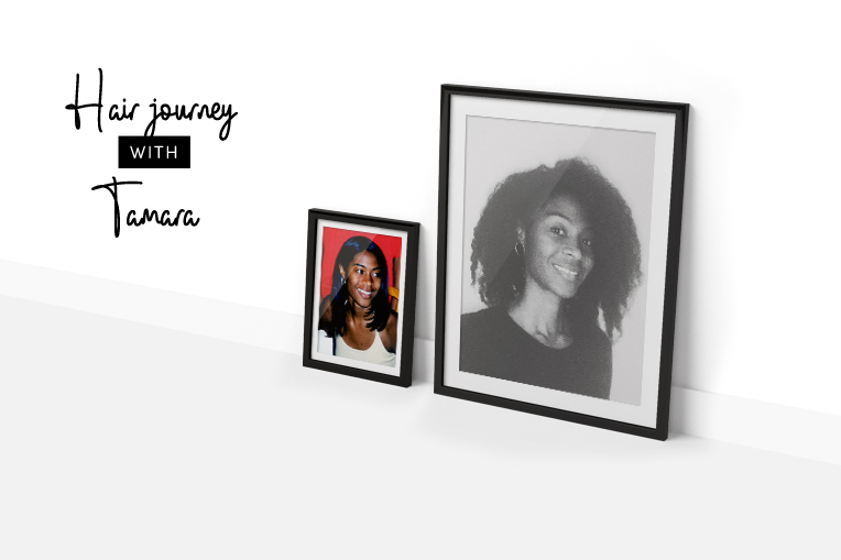 Natural Hair journey with Tamara