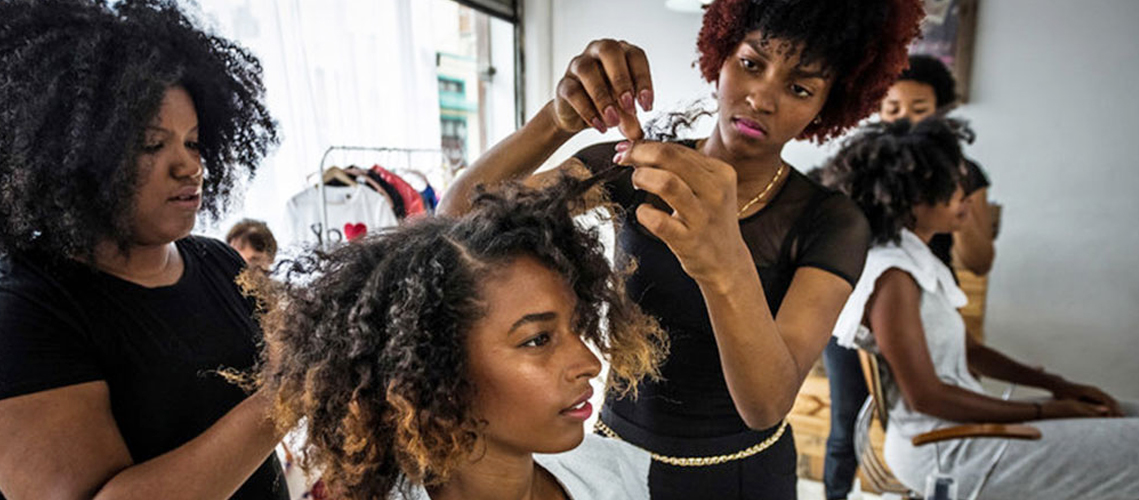 Natural Hair Salons