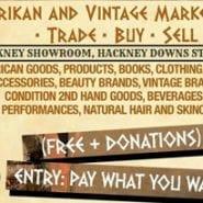 Afrikan & Vintage Market Fayre