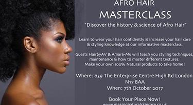 Afro Hair Masterclass