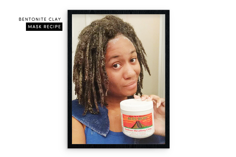Bentonite clay natural alternative for natural hair