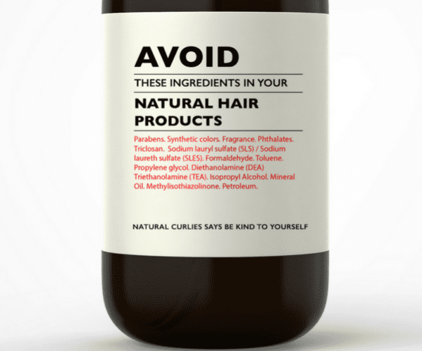 Understanding ingredients in natural hair products